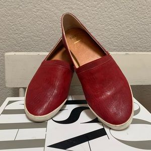 FRYE leather flats. As is!